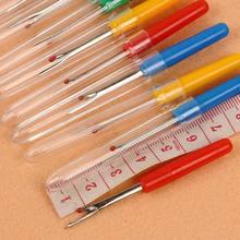 Острые швы Удаленный инструмент Безопасная пластиковая ручка Резак для крафт-резьбы Шовный