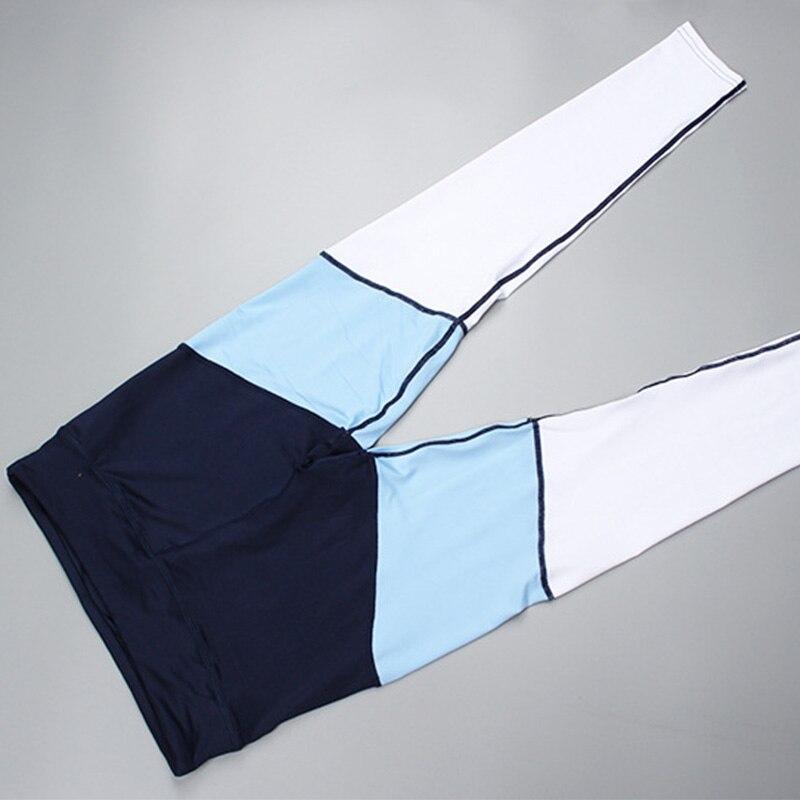 VVUES Yoga Pants Women Patchwork Fitness Leggings Workout Sports Running Leggings Gym Sportwear Elastic Slim Pants Drop Shi in Yoga Pants from Sports Entertainment