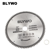 цены 250mm 80 Tooth Saw Blade with 30mm Arbor for Aluminum and Non Ferrous Metals
