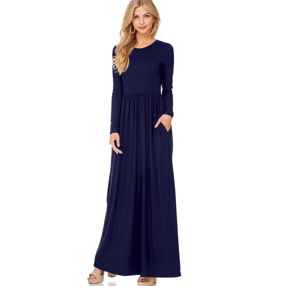 e057a6b742b Long Sleeve Occasion Maxi Dress - Data Dynamic AG