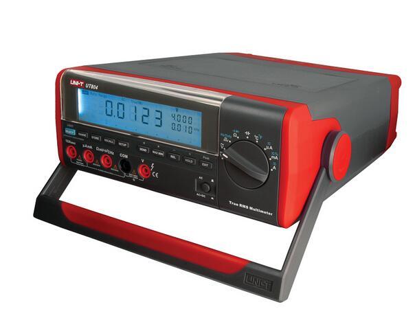 UNI-T UT803 Bench Type Digital Multimeter 1000V 10A High Accuracy Voltage Amp Ohm Capacitance Temperature Multimeter Tester hot sale ut802 uni t bench type digital multimeter automotive multimeter