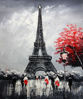 Manual Full Diamond Eiffel Tower 5D Diy Mosaic Needlework Diamond Painting Cross Stitch Home Decor Gift