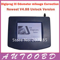DHL Free Shipping Digiprog 3 V4.88 Unlock Version full set cable Odometer adjust programmer Digiprog III Mileage Correct Tool