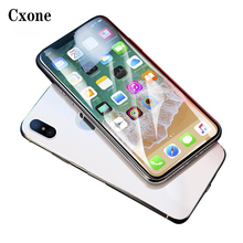 Cxone 0.3mm Screen Protector Tempered Glass For iPhone Xs Max X Xr S 3D Full Cover Protective Xsmax Protection