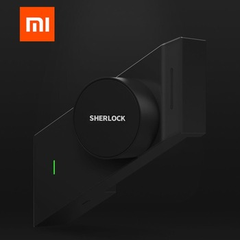Xiaomi Sherlock Smart Home Door Lock M1 mijia Keyless Fingerprint+Password Securite Porte work to Mi home app phone control 1