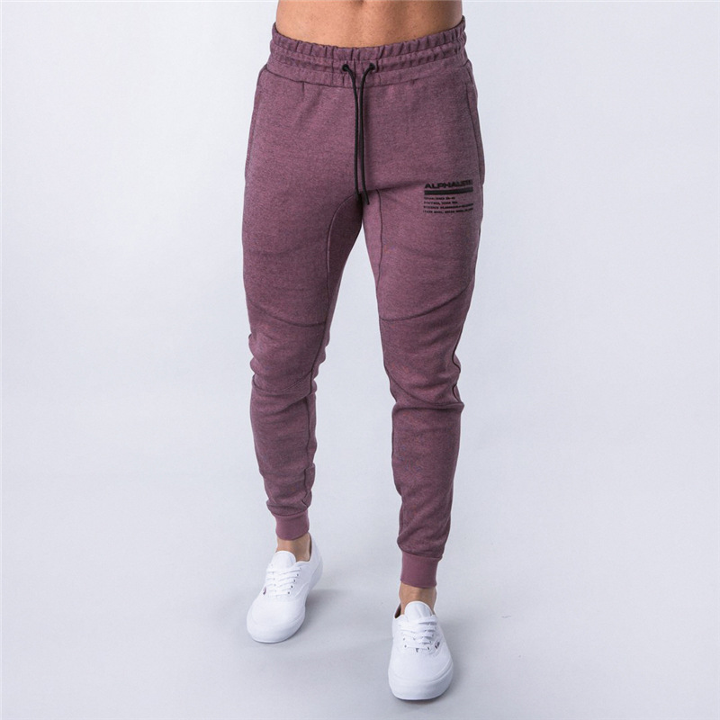 Spring New Mens Sport Pants Fitness Jogging Pants Men Bodybuilding Sportswear Sweatpants Joggers Gym Running Pants Men Leggings