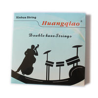 Double Bass Strings 4Pcs Set Beginner Students Steel Bass Strings 3 4 4 4 Size Wholesale