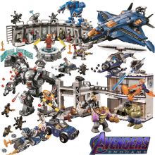 2019 New Superheroes Avengers 4 Mini Legoings Marvel Endgame Figures Building Blocks Bricks Toy 76123 76124 76125 76126