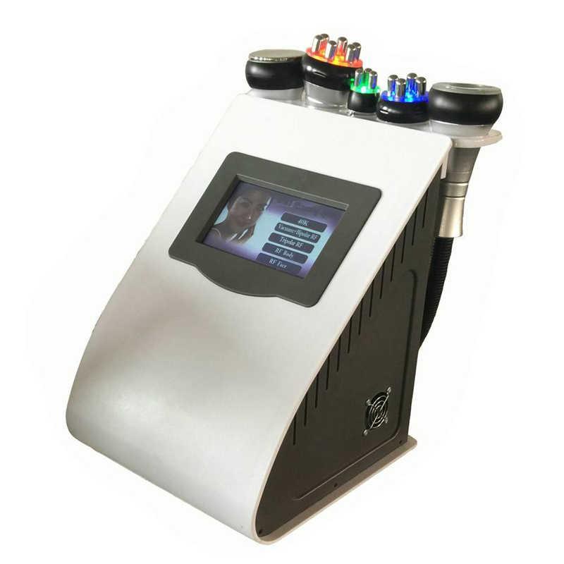 Produit 2019 en vogue 5 en 1 radiofréquence Laser sous vide RF 40K Cavi Lipo minceur Machine de Cavitation par liposuccion par ultrasons pour Spa