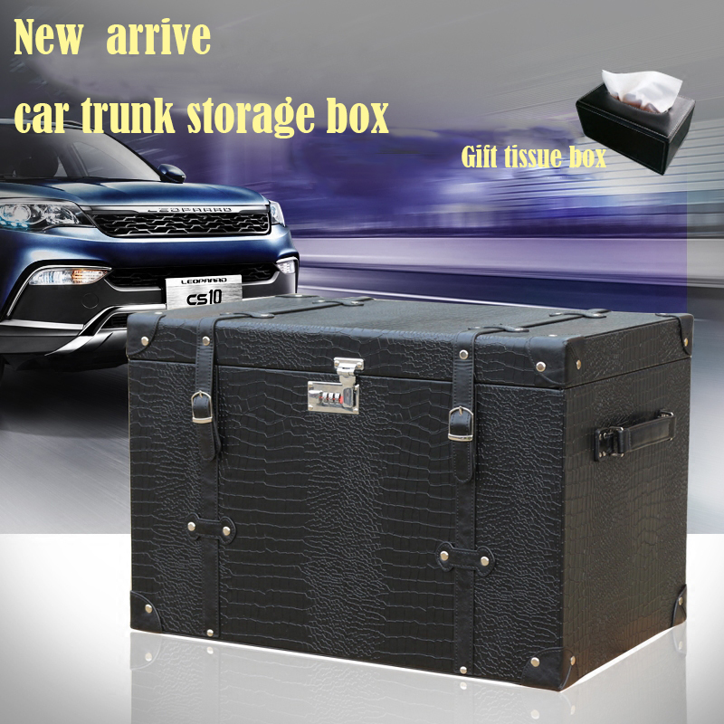Car Storage box Organizer Stowing Tidying car Trunk Box automobile boot organizer case sundries box In Cars Auto Accessories