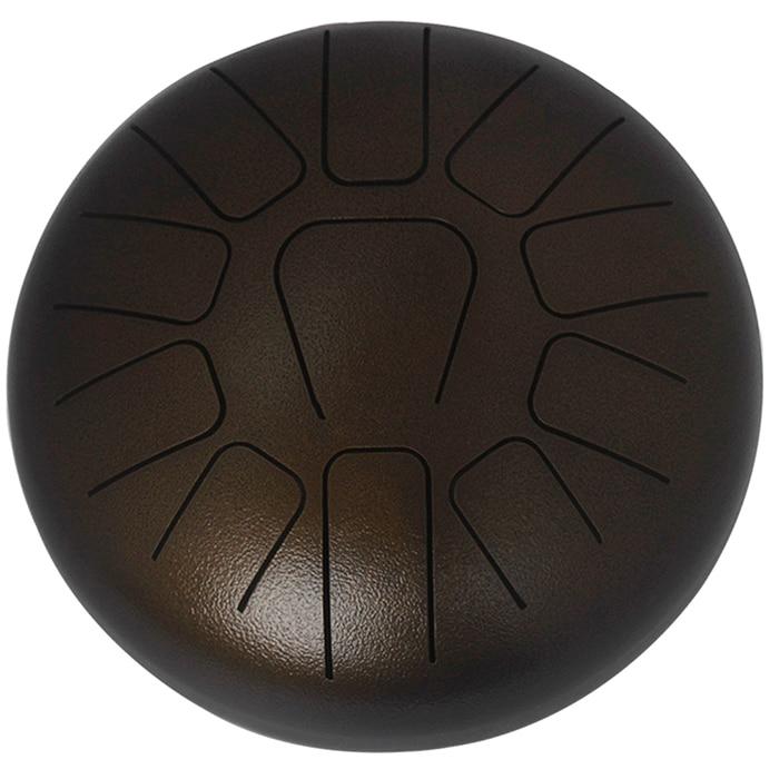 MEIBEITE Creative 10 Inch 11 Tone Steel Tongue Drum Set Unisex Drum