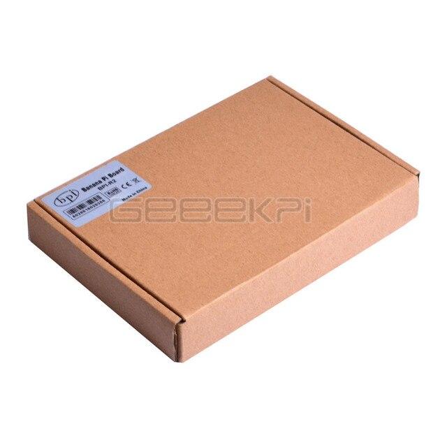 In Stock! Original Banana Pi R2 BPI-R2 v1.2 Quad-Core 2GB RAM with SATA WiFi Bluetooth 8GB eMMC demo Single Board