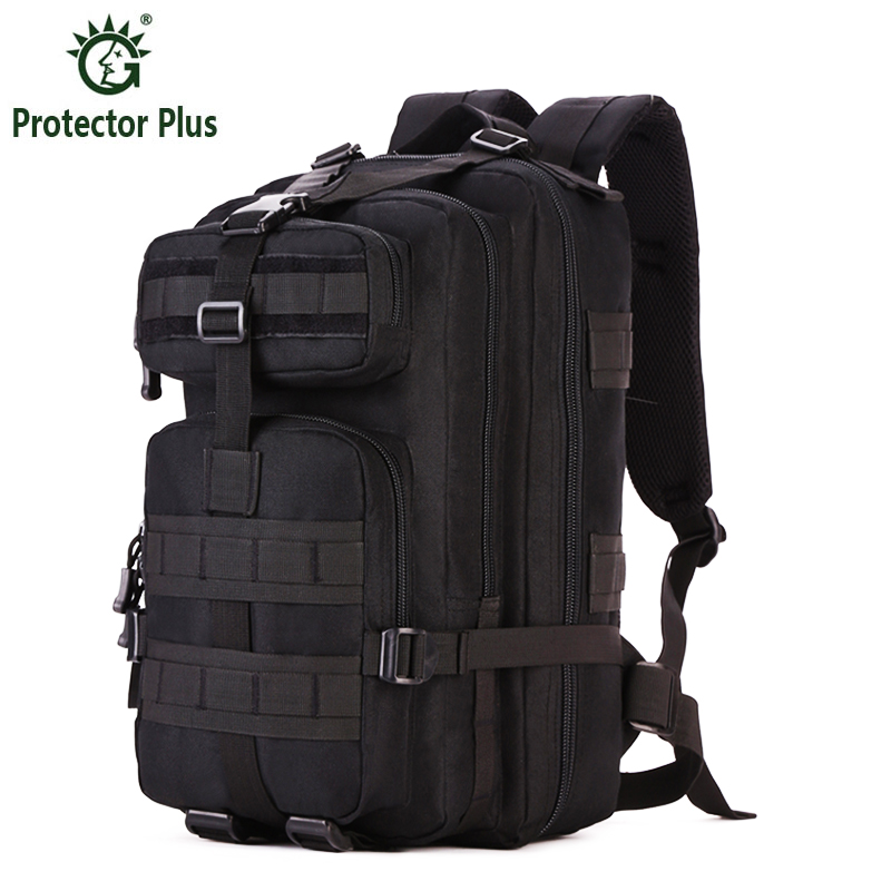 PROTECTOR PLUS outdoor camping men's military tactical backpack 1000D nylon for cycling hiking sports climbing bag protector plus sports outdoor military molle tactical bag backpack for mochila camping travel hiking backpacks bags sporttas
