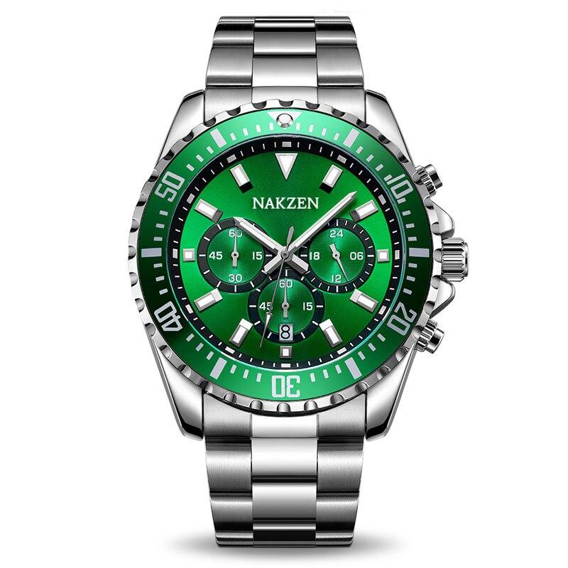 72b05b744410 Comprar Reloj De Pulsera Militar Del Ejército Cronómetro Acero ...