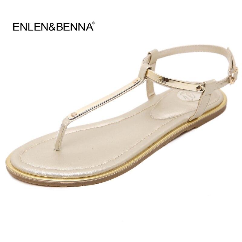 2016 flip flops Nouvelle Arrivée Célèbre Marque de luxe femmes shose sandales T-strap dames plat sandales chaussures femmes sandales flip flops