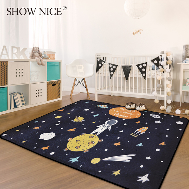 Nordic Cartoon Carpets For Living Room Children Carpet Kids Room Home Bedroom  Rugs And Carpets Study Room Area Rug Kid Play Mat