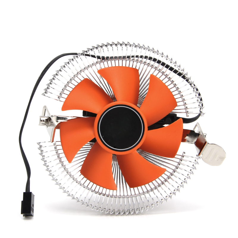 New 2200rpm CPU Quiet Fan Cooler Cooling Heatsink For Intel LGA775/1155 AMD AM2/3 hot jetting new dual fan cpu quiet cooler heatsink for intel lga775 1156 amd 95w spca