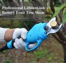 Electric Cutting Machine Fruit Tree Pruning Scissors Rechargeable High-altitude Thick Branches Cut Tools цена и фото