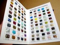 Wholesale Lot 100pcs/book mix gem stone Cabochon gem stone natural stone color chart