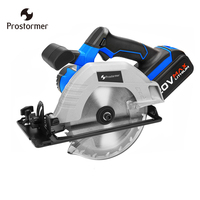 Prostormer 20V Cordless Circular Saw 165mm Electric Mini Woodworks Circular Saw 4000mAh li ion battery 100 220V Fast Charger