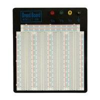 Placa de pão solderless MB 102 grande tamanho preto placa de alumínio ZY 208 para o circuito de teste 20 29awg para arduino raspberry pi|board board|board blackboard for arduino -