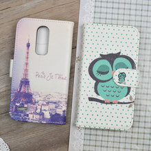 Cartoon Pattern Case For ZTE Blade A1 Filp Wallet Leather Case For ZTE Blade A1 C880U C880 5.0 inch Stand Cover Phone Bags&Cases