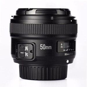Image 2 - YONGNUO YN 50mm f/1.8 AF Lens YN50mm Aperture Auto Focus Large Aperture for Nikon DSLR Camera as AF S 50mm 1.8G Free lens bag