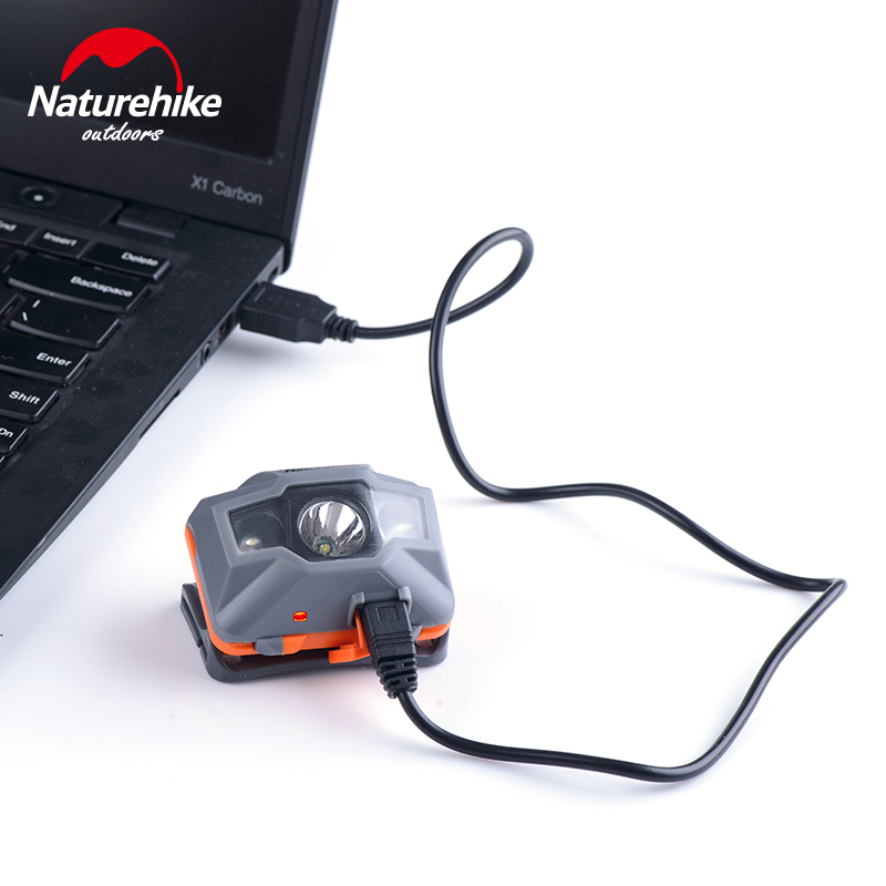 Naturehike USB Recharg Headlamp 4 Modes Headlight for Outdoor Fishing Camping Cycling Hiking 5