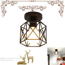 LED Ceiling Down Light Square Pendant Lamp Without Bulb Energy Saving Durable Kitchen Bedroom