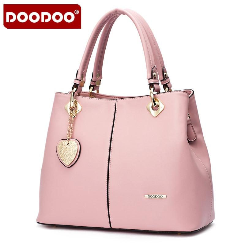 DOODOO Lady Real Leather Handtassen Vintage luxe handtassen vrouwen - Handtassen - Foto 5