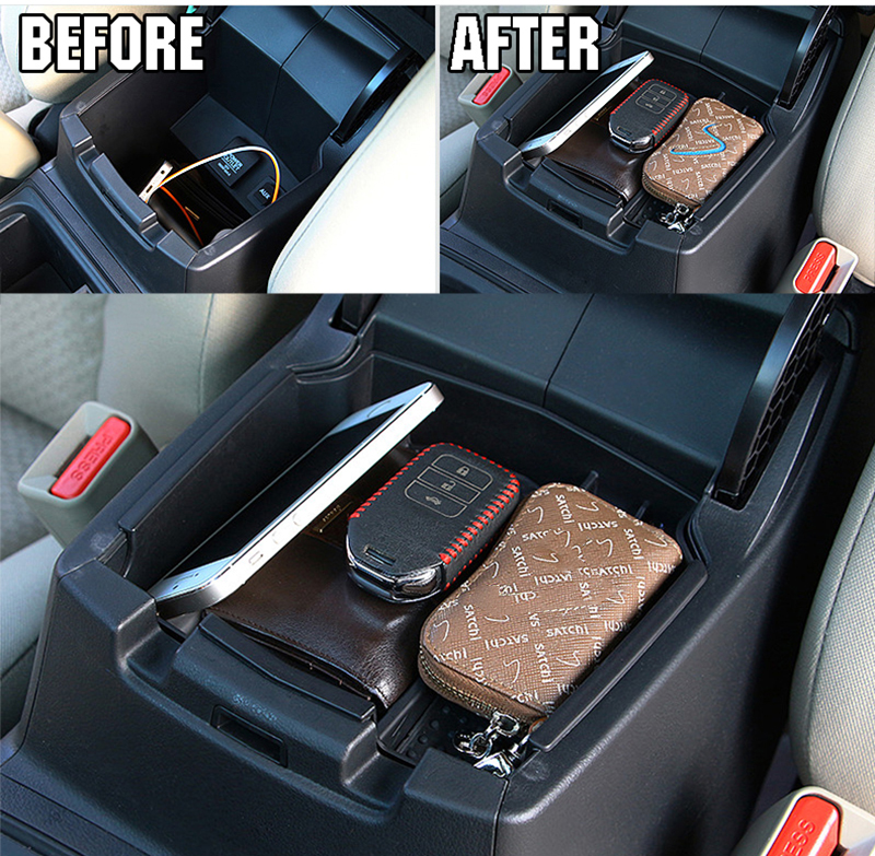 2016 Honda Element >> FIT FOR HONDA CR V CRV 2012 2013 2014 2015 2016 ARMREST ARM REST CENTER CONSOLE STORAGE BOX ...