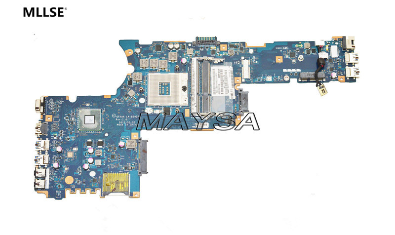 High Quality K000135160 main board fit For Toshiba Satellite P850 P855 Laptop Motherboard QFKAA LA-8392P DDR3 HD4000 100% tested 815248 501 main board for hp 15 ac 15 ac505tu sr29h laptop motherboard abq52 la c811p uma celeron n3050 cpu 1 6 ghz ddr3