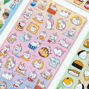 Image 3 - 20sets/1lot Kawaii Stationery Stickers Unicorn Monkey Diary Planner Decorative Mobile Stickers Scrapbooking DIY Craft Stickers