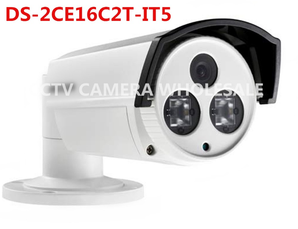ФОТО English version DS-2CE16C2T-IT5 EXIR outdoor bullet Turbo HD analog camera 720P HD-TVI Camera