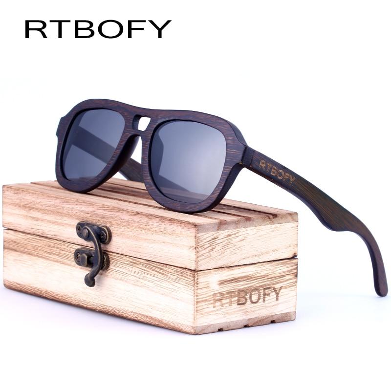 RTBOFY Ξύλινα γυαλιά ηλίου για άνδρες 2017 - Αξεσουάρ ένδυσης - Φωτογραφία 3