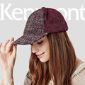 Kenmont Primavera Otoño Mujeres Gorras de Béisbol de Lana Deporte Al Aire Libre Visera Sombreros Del Snapback Ajustable de Alta Calidad 2278