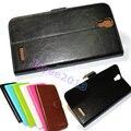 Искусственная кожа защита бумажник чехол для Prestigio MultiPhone 7600 Duo