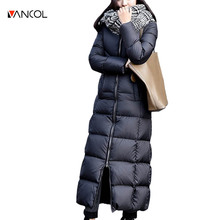 Vancol Ukraine Womens Down Jackets Down Parka Winter Jacket Women Female Jacket Coat Women Winter Coat Women 2016 ex Long Jacket