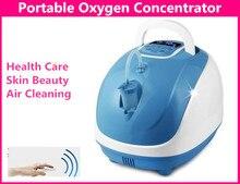Кислородный концентратор с ионизатором, портативный генератор кислорода, 1 л/мин, 90% Домашний медицинский пульт дистанционного управления