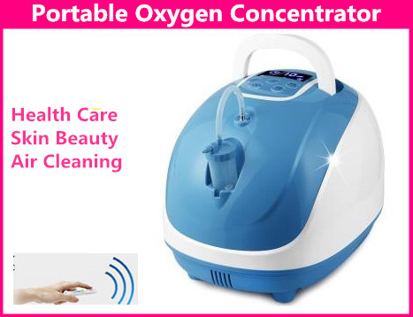 1-5L/min 90% Home Medical Remote Control Oxygenerator Detoxification Oxygen Concentrator With Ionizer Portable Oxygen Generator 32w oxygen concentrator machine portable oxygen generator 3l min low noise