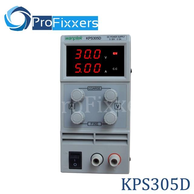 305D Adjustable High precision double LED display switch DC Power Supply protection function 0-30V/0-5A 110V-230V 0.1V/0.01A EU
