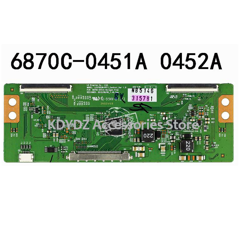 Free Shipping  Good Test T-CON  Board For 42LN5100-CP 6870C-0452A 6870C-0451A Screen LC500DUE-SFR1