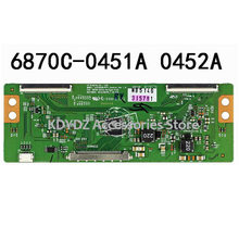free shipping Good test T-CON board for 42LN5100-CP 6870C-0452A 6870C-0451A screen LC500DUE-SFR1(China)