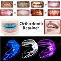 3 cores Dental Ortodontia Appliance Instrutor de dente Oral Correção Fanfarrão Dentes Retentor Chaves Manter Uou Bonito corrector