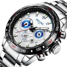 Fashion night light multi-function mechanical watch sports wind business waterproof calendar men's watch цена и фото