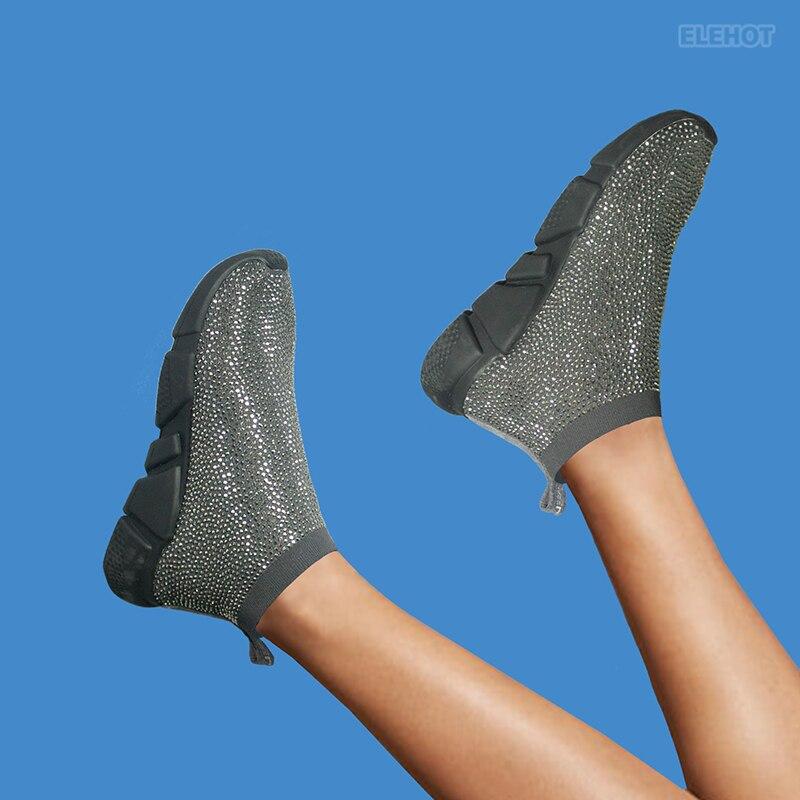 Elehot Black 3 Dress Shoes Sneakers