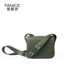 New Green Color Genuine Leather Messenger Bags 2016 Fashion Cow Leather Women Shoulder Bags Ladies Envelop Bags 2017