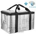 18L 2016 Мода Стиль Большой Размер Сумка-Холодильник Для Путешествий Пикник Тепловая Сумка Bolsa Termica с 8 пакеты со льдом
