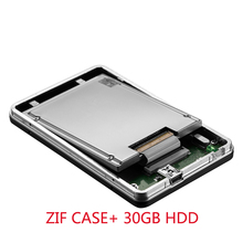 NEW Zheino 1.8″ inch 30GB HDD External hard drive USB 2.0 hdd case with ZIF PATA 30GB hard disk drive