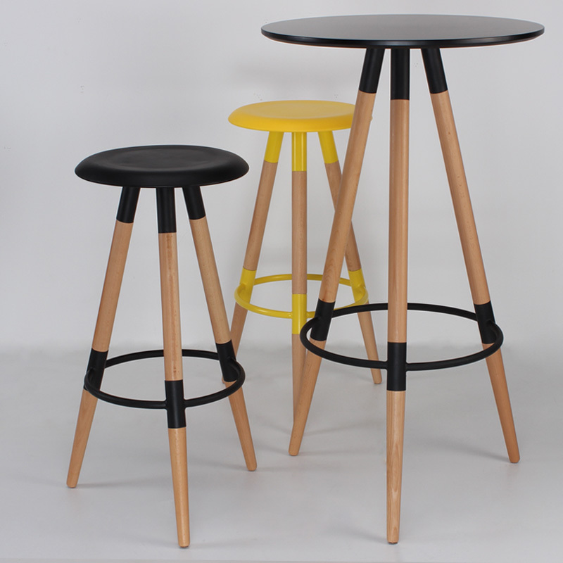 Genial Wood Bar Stool Bar Chair Stylish Casual Bar Stool Bar Stool Tall Stool  Highchair Eames Chair In Bar Stools From Furniture On Aliexpress.com |  Alibaba Group